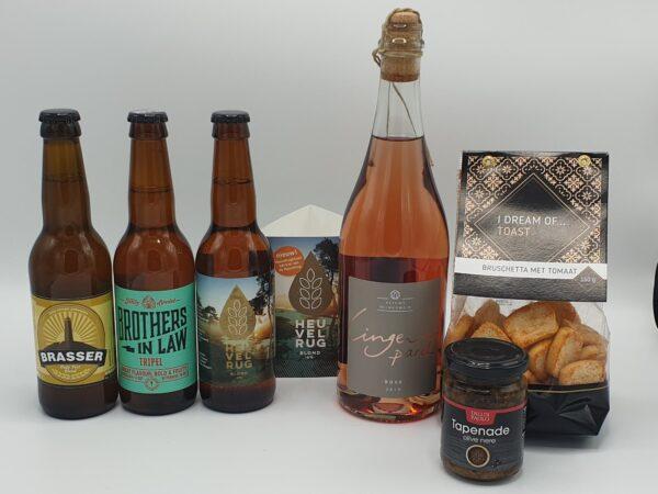 Bier en bubbels borrelpakket