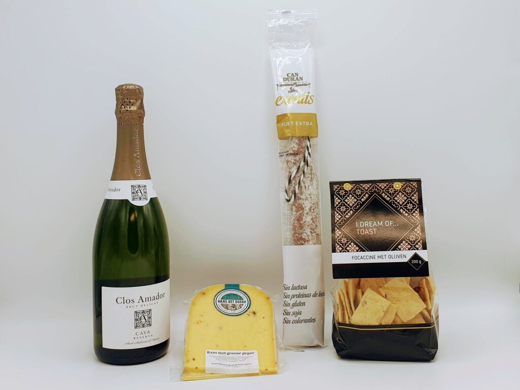 Virtuele borrel pakket cava