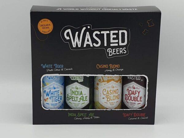 Wasted-beer-cadeauverpakking streekbier nowaste